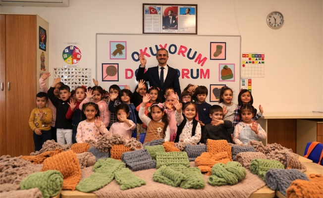 Çayırova'dan, Diyarbakır annelerine atkı