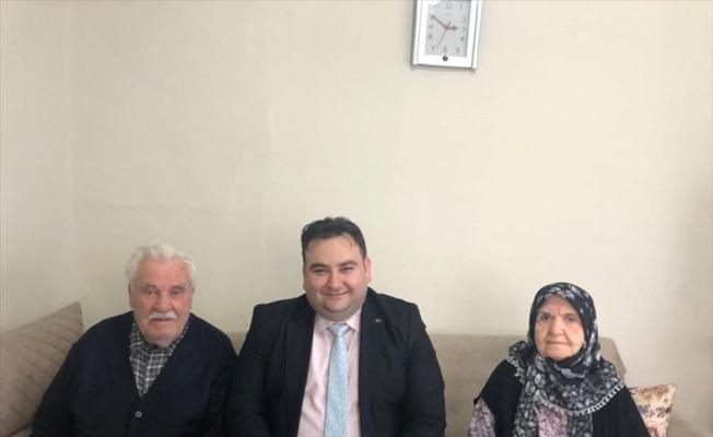 Demirköy Belediye Başkanı Gün, yaşlıları ziyaret etti