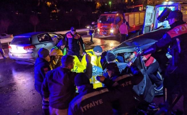 Edirne'de trafik kazası: 3 ölü, 2 yaralı