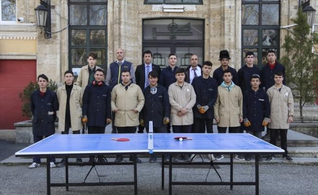 Edirne'de üretilen yerli tenis masaları okullara dağıtılacak