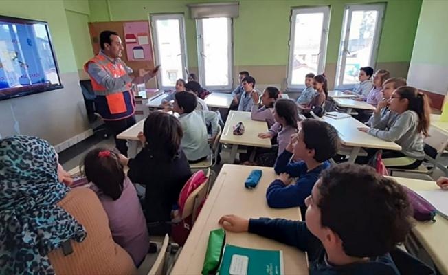 Eyüpsultan'daki öğrenciler doğal afetlere karşı bilinçlendirilecek
