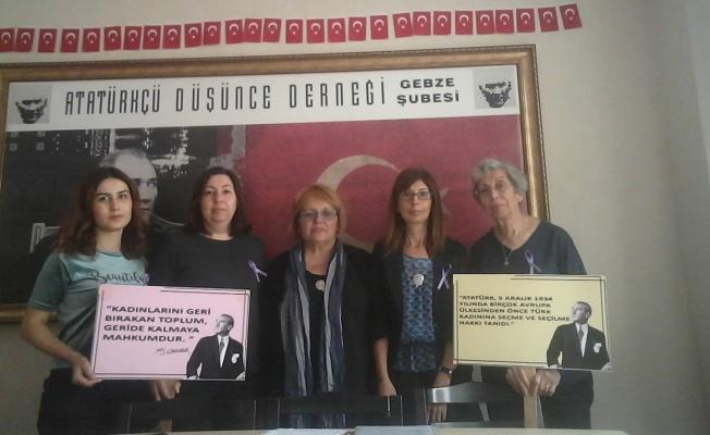 Gebze ADD'den 'Kadına Şiddet ve Kadın Cinayetleri' semineri
