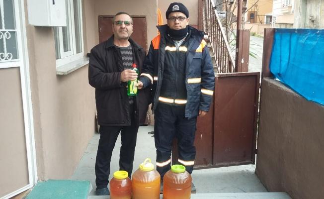 Gebze'de atık yağı getir deterjanı götür