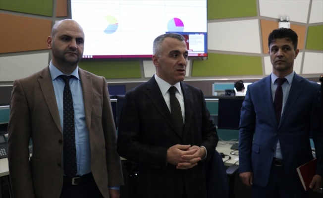 Kırklareli Valisi Bilgin 112 Acil Çağrı Merkezini ziyaret etti