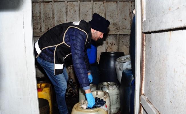 Kocaeli'de akaryakıt hırsızlığı çetesine yönelik operasyonda 23 şüpheli yakalandı