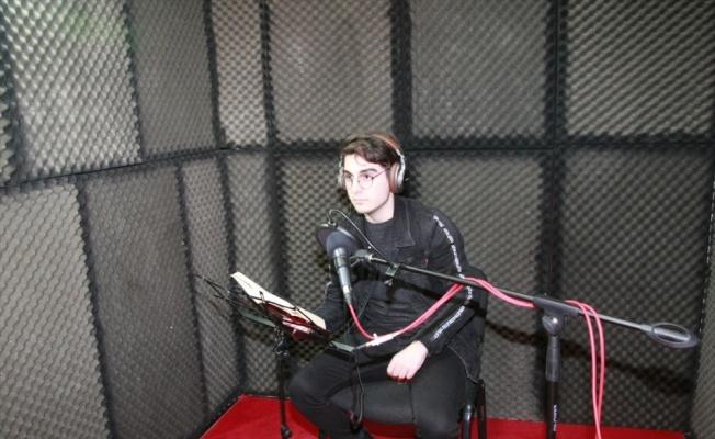 Orhangazi'de sesli kütüphanede açıldı