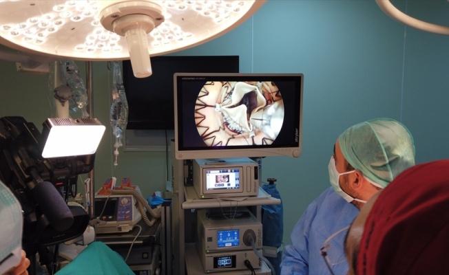 Sakarya'da 3 hastaya endoskopik kalp ameliyatı yapıldı