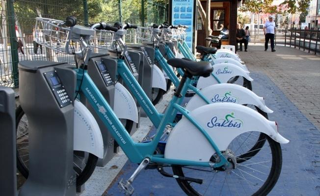 Sakarya'da akıllı bisiklet kiralama sayısı 57 bine ulaştı