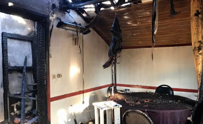 Sakarya'da kahvehane yangını