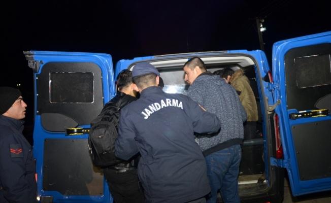 Tekirdağ'da 20 düzensiz göçmen yakalandı