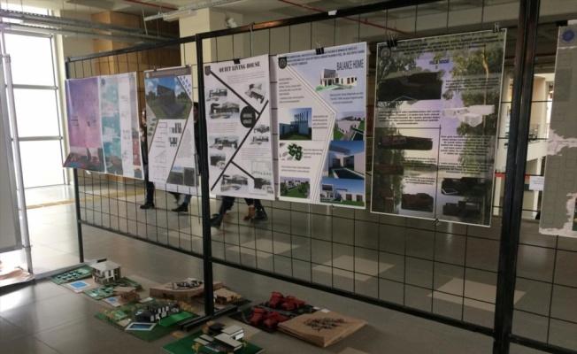 Tekirdağ'da üniversite öğrencileri projelerini sergiledi
