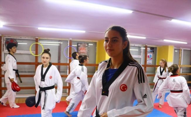 Tekvandoda 16 yaşında yedinci Türkiye şampiyonluğunu kazandı