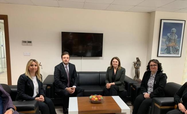AK Parti İl Başkanı İba, ziyaretlerini sürdürüyor