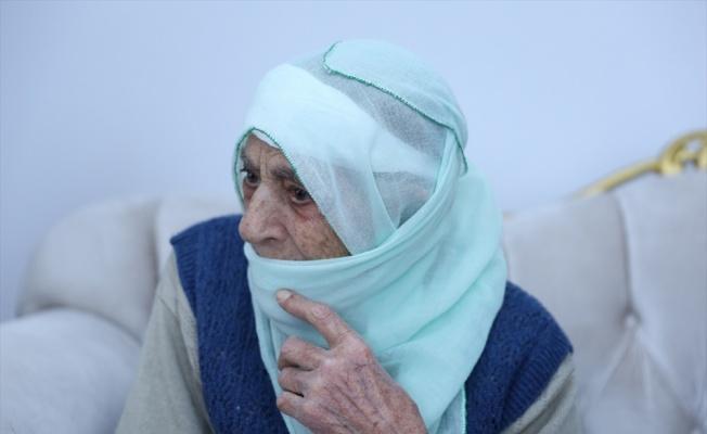 Bursa Büyükşehir Belediye Başkanı Aktaş'tan 107 yaşındaki Zahide nineye ziyaret