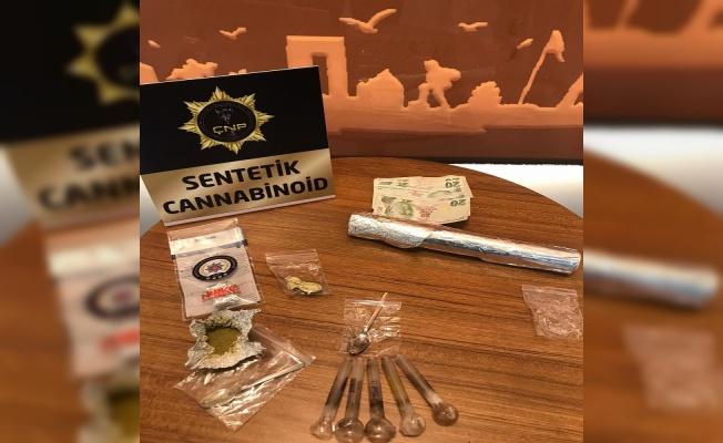 Çanakkale'de uyuşturucu operasyonunda 3 şüpheli yakalandı