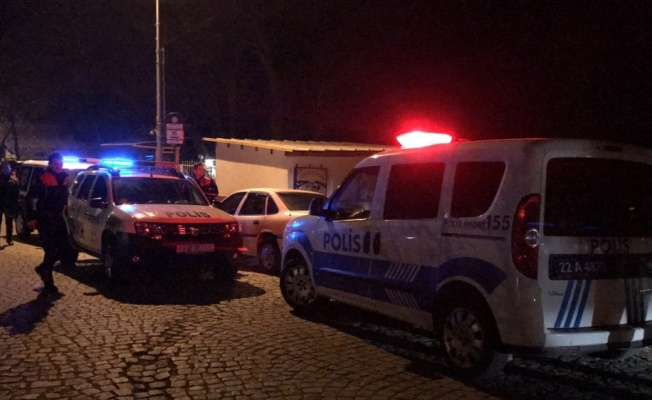 Edirne'de 6 düzensiz göçmen Meriç Köprüsü'nü geçerken yakalandı