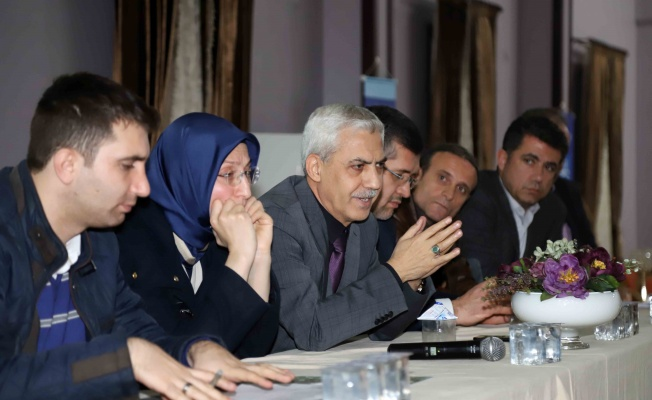 İSU'dan vatandaşa bilgilendirme toplantısı