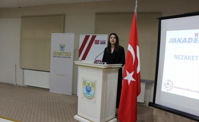 İznik'te kadın girişimcilere