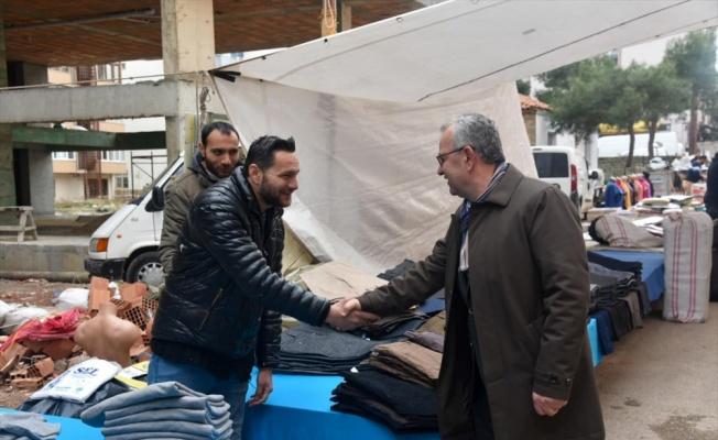 Keşan Belediye Başkanı Helvacıoğlu'ndan esnafa ziyaret
