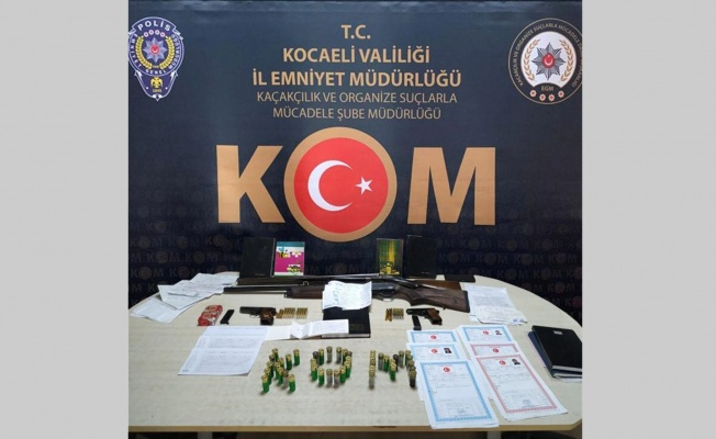 Kocaeli'deki tefecilik operasyonunda 4 kişi tutuklandı