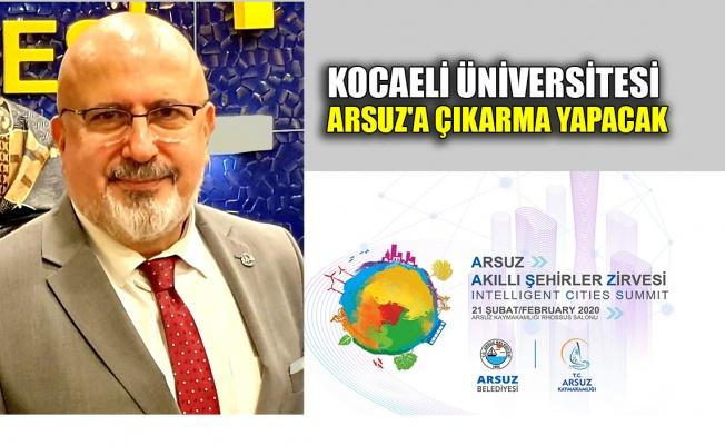 Kocaeli Üniversitesi, Arsuz'a çıkarma yapacak