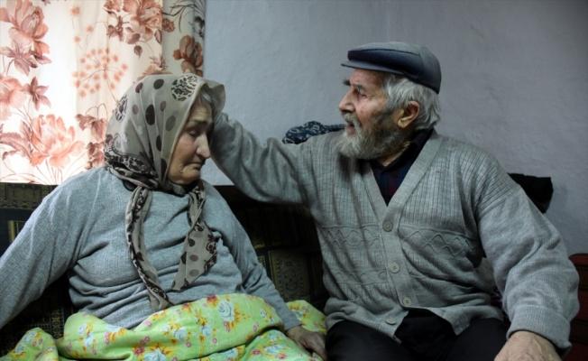 Mustafa dede ile alzaymır hastası eşinin aşkı