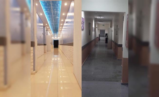 TNKÜ Araştırma Hastanesinin bazı bölümleri yenilendi