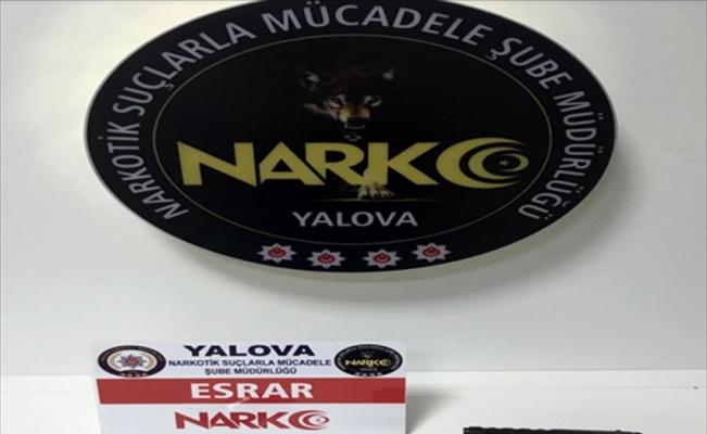 Yalova'da uyuşturucu operasyonu: 5 gözaltı