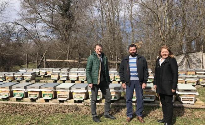 Arıcıya organik tarım sertifikası verildi