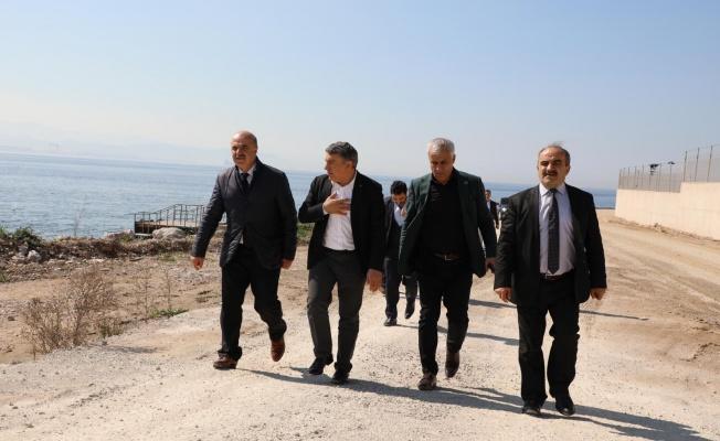Başkan Şayir, Daire Başkanı Turan ile proje alanlarını gezdi
