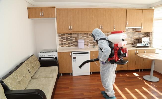 Gebze Belediyesi, Huzur Evi'ni dezenfekte etti