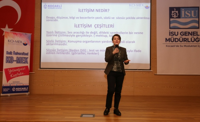 İSU personeline etkili iletişim semineri