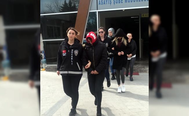 Kocaeli'de fuhuş operasyonu: 8 gözaltı
