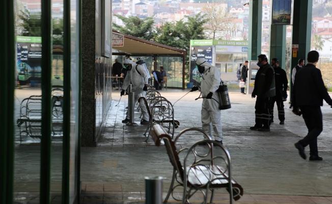 Kocaeli'de toplu taşıma araçlarında virüs ve mikroplara izin yok