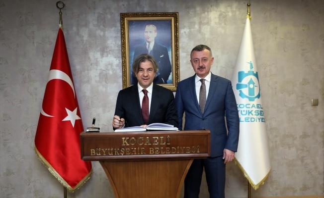 Kültür ve Turizm Bakan Yardımcısı Demircan, Büyükakın'ı ziyaret etti