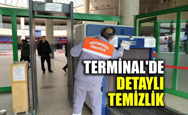 Terminal'de detaylı temizlik