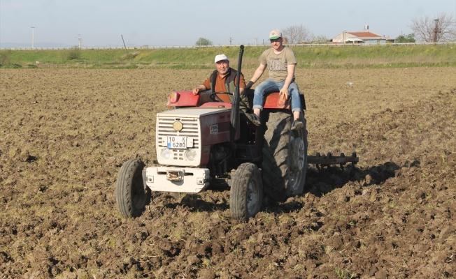 Çiftçiler çeltik ekimi için yerlerini hazırlamaya başladı