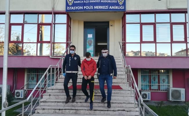 Darıca'da havaya ateş açan şüpheli yakalandı