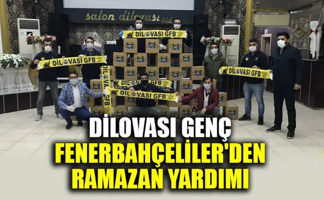 Dilovası Genç Fenerbahçeliler'den Ramazan yardımı