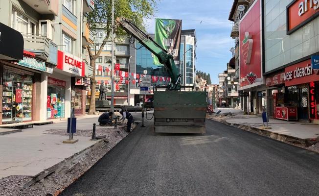 Geçen ay trafiğe kapatılan cadde açılıyor