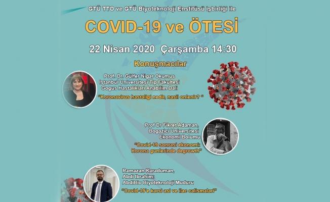 GTÜ'den COVID-19 Sempozyumu