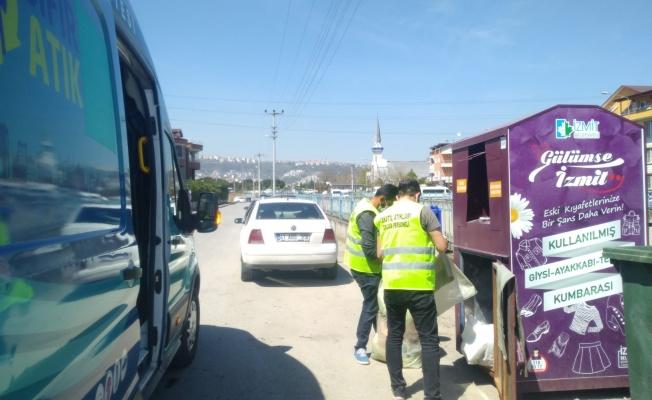 İzmit Belediyesi kumbara sayısını 250'ye çıkardı