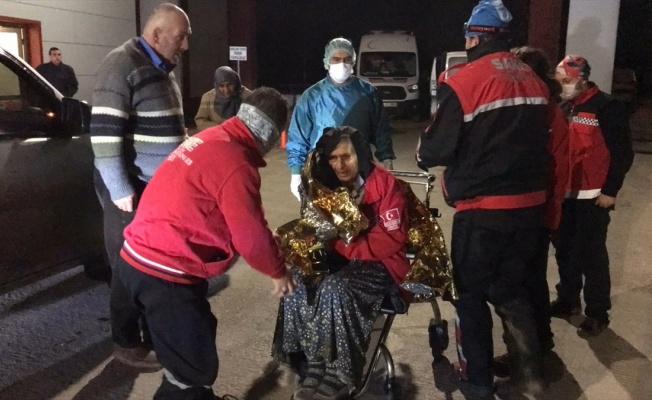 Kaybolan alzaymır hastası yaşlı kadın bulundu