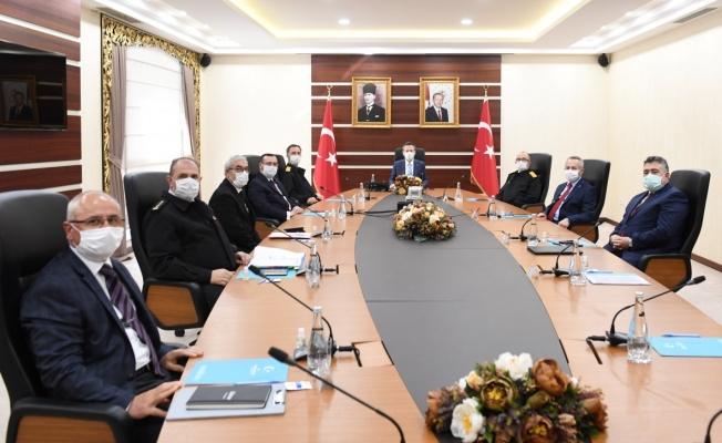 Kocaeli'de il güvenlik toplantısı yapıldı