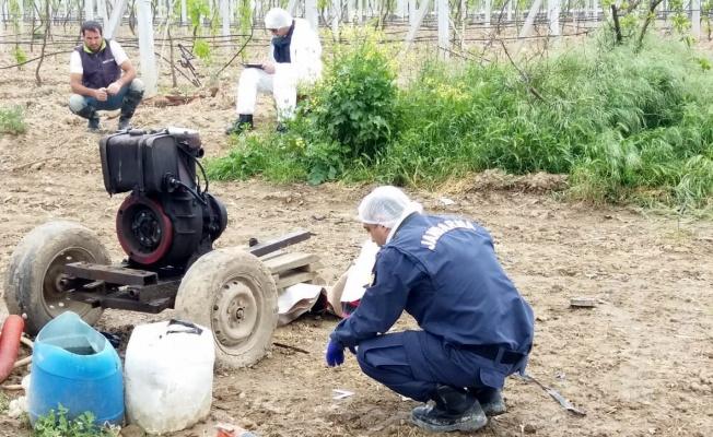 15 çiftçinin sulama motoru ve sistemleri çalındı