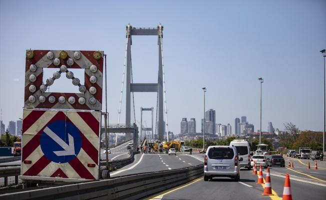 15 Temmuz Şehitler Köprüsü'ne araç sayım sistemi kuruluyor