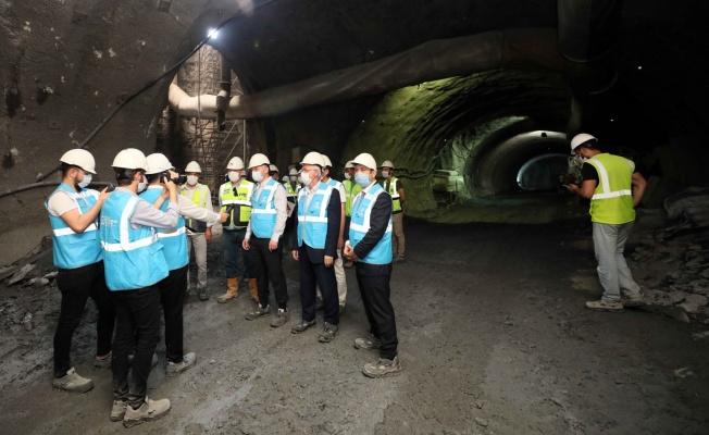 Büyükakın: Eylül 2023'te metro projemizin bitmesini planlanıyoruz