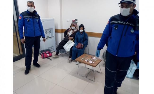Dilencilere koronavirüs operasyonu