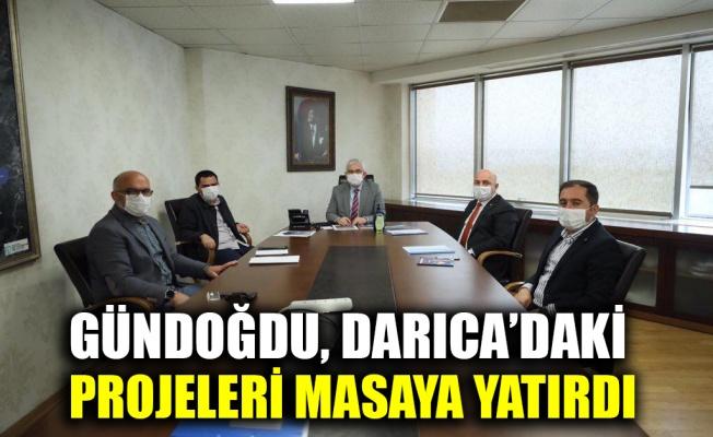 Genel Sekreter Gündoğdu, Darıca'daki projeleri masaya yatırdı