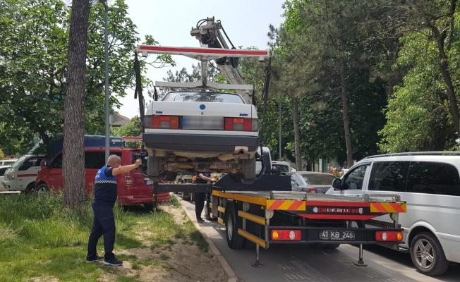 Hatalı park eden araçlara cezai işlem
